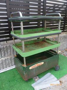 京都機械 KTC EASY-BUGGY イージーバギー 工具箱 道具箱 スチールワゴン 収納ワゴン ツールワゴン キャビネットワゴン 珍品 レア 即決有