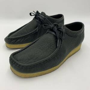 A @ 良品 / 人気モデル!! Clarks ORIGINALs クラークス CJ-1825 BA16 OEQ 本革 レザー チロリアンシューズ 革靴 SIZE:24.5cm メンズ 紳士靴
