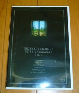 送料込!!【ピーター・グリーナウェイ 初期作品 1/1】中古DVD・Peter Greenaway/CBE・レンタル落ちではありません