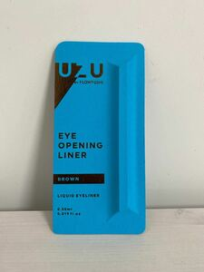 UZU BY FLOWFUSHI (ウズバイフローフシ) アイオープニングライナー [ブラウン] リキッドアイライナー