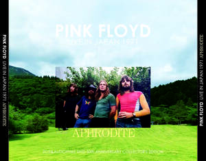 "PINK FLOYD/APHRODITE-LIVE IN JAPAN 1971(2CD+1DVD)71年""アフロディーテ""最新リマスターAudiophileDVDセット!輸入プレス盤"