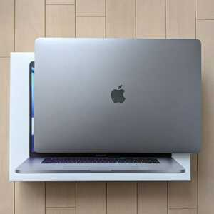 MacBook Pro 16インチ i7/32GB/1TB/5300M 4GB スペースグレイ Retina Touch Bar Apple Care加入