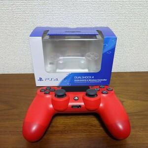 SONY PS4 ワイヤレスコントローラー DUAL SHOCK 4 マグマ・レッド