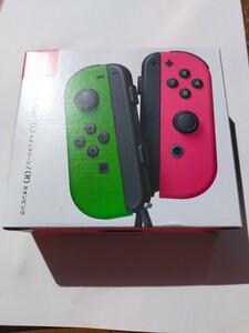 Nintendo Switch ジョイコン ネオンピンク ネオングリーン ニンテンドースイッチ