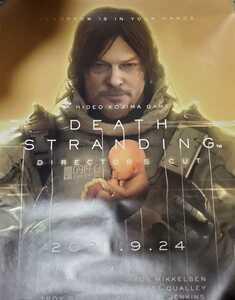 PS5 DEATH STRANDING DIRECTOR'S CUT デスストランディング ディレクターズカット B2ポスター 非売品 販促ポスター B2サイズ
