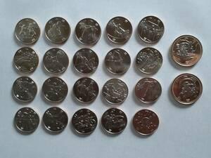 2020 東京オリンピック パラリンピック 記念硬貨 記念貨幣 22枚セット 22種類 フルセット 100円 500円