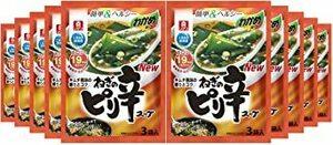 リケン わかめスープ ねぎのピリ辛スープ 6.7g×3袋×10袋