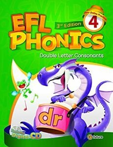 新品 e-future EFL Phonics 3rd Edition レベル4 スチューデントブック (ワークブッKTPX