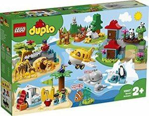 新品レゴ(LEGO) デュプロ 世界のどうぶつ 世界一周探検 10907 知育玩具 ブロック おもちゃ 女の子 男のVWVL