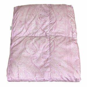 新品ピンク シングル 西川 ダウンケット ウォッシャブル肌掛け布団【NU-50柄】ダックダウン50% シングルサイズSKEE