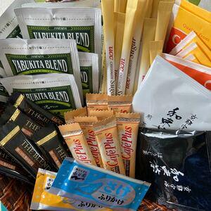 コーヒー、緑茶、紅茶他、ドリンクセット 53点 インスタントコーヒー 日本茶