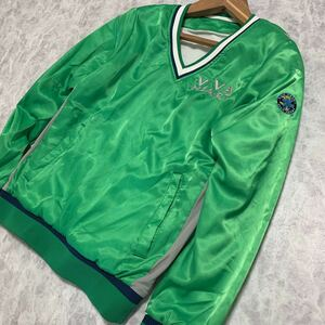 L @ 大きいサイズ!! '都会のゴルフウェア' VIVA HEART ビバハート 中綿 プルオーバー ジャケット SIZE:50 スリットZIP メンズ アウター