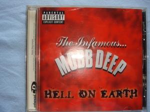 CD【MOBB DEEP(モブ・ディープ)★HELL ON EARTH】国内盤全14曲(個人所有品)