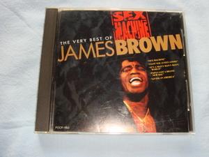 CD【JAMES BROWN(ジェームス・ブラウン)★THE VERY BEST】日本盤全20曲(個人所有品)