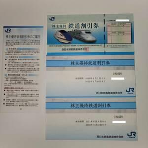 JR西日本 株主優待鉄道割引券12枚+JR西日本グループ株主優待割引券2冊