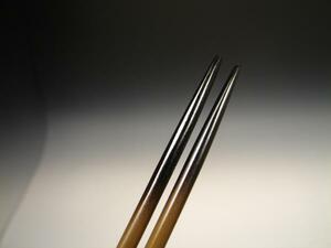 ★【七】 茶道具 香道具 煎茶道具 唐銅細火箸 新品