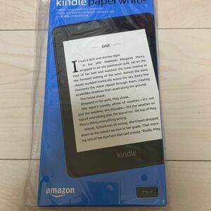Kindle Paperwhite 防水機能搭載 wifi 8GB ブラック 広告つき 電子書籍リーダー キンドル amazon