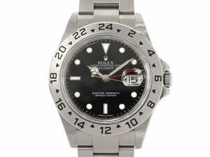[3年保証] ロレックス メンズ エクスプローラー2 16570 Z番 新品仕上済 エクスプローラーII 黒文字盤 自動巻 腕時計 中古 送料無料