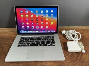 Apple MacBook PRO retina 15inch mid2014/最上位Core i7 2.8GHZ/16GB/ SSD1TB/Windows10/office2019/大容量極美品