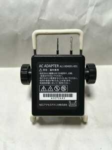 NECプラットフォームズ MR03LN MR04LN 共通専用ACアダプター AL1-004001-101 純正品 送料無料