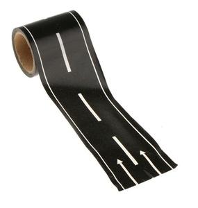 【vaps_4】ミニカー 道路テープ 《高速道路》 5m巻 ミニカー遊び 道路 線路 シール ステッカー マスキングテープ 送込