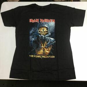 SR2B1♪ 両面プリントバンドデザイン半袖Tシャツ Lサイズ アイアンメイデン IRON MAIDEN ③