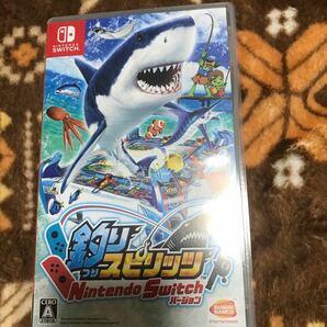 NSW 釣りスピリッツ Nintendo Switch 中古品