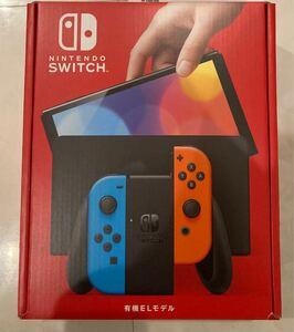 【送料込】新型 ニンテンドースイッチ 有機EL ネオンブルー ネオンレッド 本体 Nintendo Switch 任天堂スイッチ