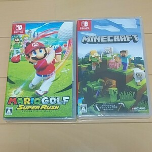 任天堂  マリオゴルフ MINECRAFT Nintendo Switch ソフト2本