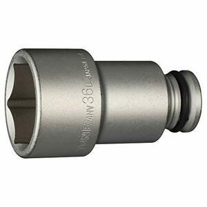 トネ(TONE) トネ(TONE) インパクト用ロングソケット HP4NV-36L 差込角12.7mm(1/2) 二面幅36mm