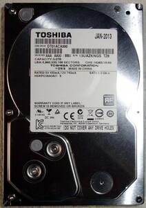 TOSHIBA DT01ACA300 [3TB SATA600] 3.5インチ内蔵HDD 11635時間使用