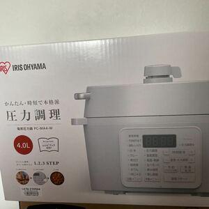 [大人気]アイリスオーヤマ 電気圧力鍋4.0L PC-MA4-W