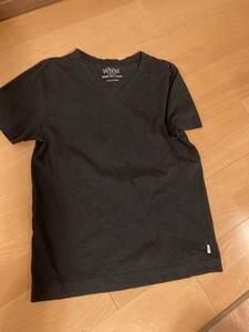 WNW WORK NOT WORK ワークノットワーク ブラック 黒 半袖Tシャツ L
