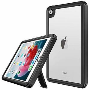 お買得 iPad mini4 防水ケース 耐衝撃 全方向保護 防塵 スタンド機能 IP68 ストラップ付 防水ケース 超軽量