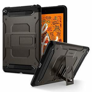 お買得 Spigen iPad mini5 ケース カバー 衝撃吸収 耐衝撃 スタンド 米軍MIL規格取得 アイパッド ミニ5