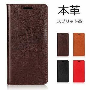 ダークブラウン 1_ iphone XR iphone XR アイフォン XR ケース カバー 手帳型 本革 レザー マグネット