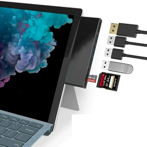 H2#Microsoft Surface pro 6/5/4専用ハブ