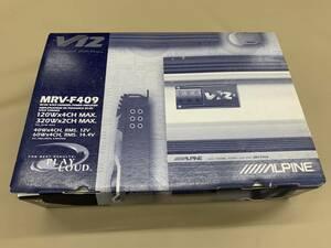 アルパイン パワーアンプ MRV-F409未使用