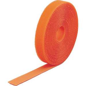 TRUSCO マジックバンド[[R下]]結束テープ両面 オレンジ40mm×25m [MKT40250OR]