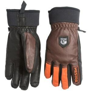 Hestra ヘストラ アーミーレザー ウール グローブ S チョコ army leather wool glove