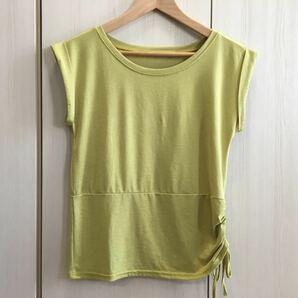 パネットワン ヨガウェア Tシャツ オリエンタルイエロー