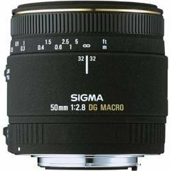 SIGMA 単焦点マクロレンズ MACRO 50mm F2.8 EX DG ニコン用 フルサイズ対応(中古 良品)