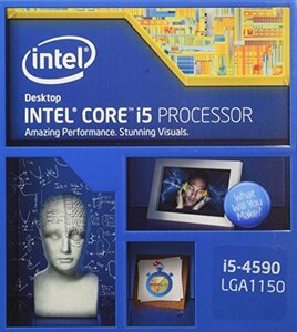 Intel CPU Core-i5-4590 6Mキャッシュ 3.30GHz LGA1150 BX80646I54590 【BO(中古 良品)