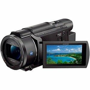 ソニー SONY ビデオカメラ FDR-AX60 4K 64GB 光学20倍 ブラック Handycam F(新品未使用品)