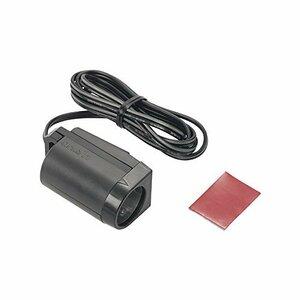 エーモン 電源ソケット DC12V/24V80W以下 貼り付けタイプ 1540