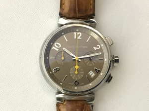 ルイヴィトン LOUIS VUITTON タンブールクロノ メンズ腕時計 AT 中古 Q1122