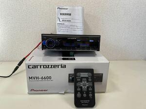 carrcarrozzeria 1DIN iPod USB MVH-6600