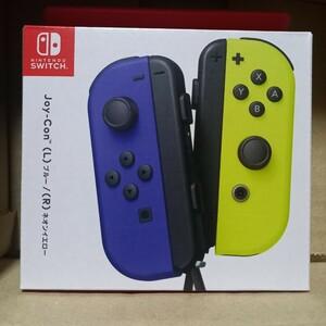 【新品】Nintendo Switch Joy-Con ブルー/ネオンイエロー