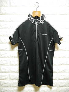 A285 ◇ New Balance   ニューバランス ポロシャツ 黒 中古 サイズLL