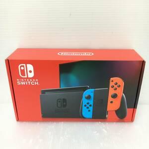 gg058 送料無料!未使用品 ニンテンドースイッチ 本体 Nintendo Switch Joy-Con(L) ネオンブルー/(R) ネオンレッド 新モデル
